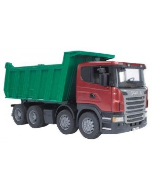 BRUDER 03550 bruder camion scania ribaltabile 1:16