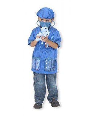 MELISSA E DOUG 14850 set costume veterinario unisex giacca +accessori