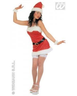 Costume Mamma Natale L Sexy Lusso In Velluto