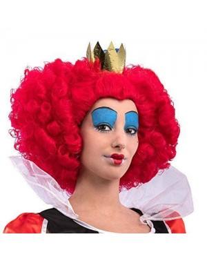 CARNIVAL TOYS 02309 parrucca regina cuori alice valigetta
