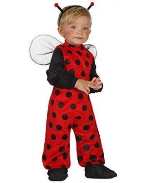 Costume Coccinella, Baby T. 6-12