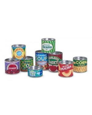 MELISSA E DOUG 14088 set di cibo in scatola