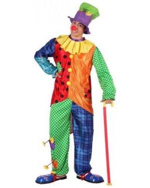 Costume Da Pagliaccio T-2 Uomo