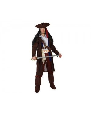 Costume Da Pirata Dei Caraibi Adulto Xl