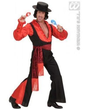 Costume Uomo Spagnolo M Camicia-Pantaloni-Cintura