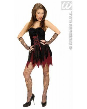 Costume Vampira Vittoriana M Corto