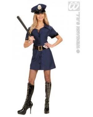 Costume Poliziotta L Vestito,Cintura,Cappello