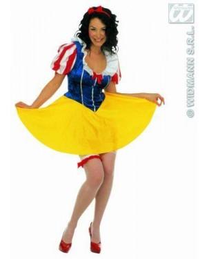 Costume Biancaneve Xl Principessa Della Favole