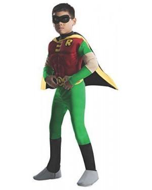 RUBIES 882309 costume robin batman 8/10 con muscoli