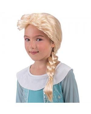 CARNIVAL TOYS 02723 parrucca frozen bimba bionda c/treccia elsa