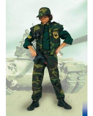 Costume Task Force Soldato C/Mitra 9/11