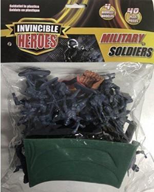 Giocheria RDF50794 Invincible Heroes - Busta Base Soldatini 40 pezzi