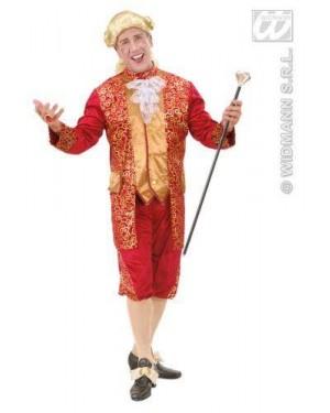 WIDMANN 7196R costume marchese bordeaux xl in vell e raso