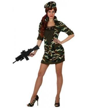 Costume Militare Donna Al Mando T-3