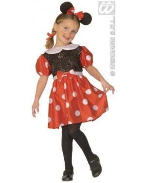 Costume Minnie Topolina 3/4 4/5