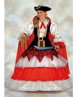 Costume Regina Dei Pirati 3/4 Anni