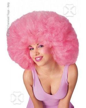 CARNIVAL TOYS 02969 parrucca africa rosa cm. 40 in busta