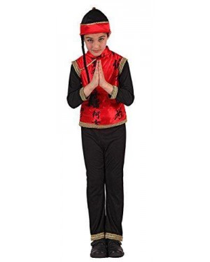 Costume Da Cinese Bambino T-4