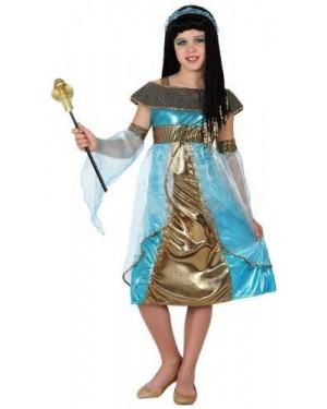 Costume Egiziana Faraona Tg4 10/12 Anni
