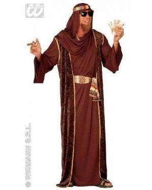 Costume Sceicco Arabo S Con Accessori