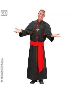Costume Cardinale Xl In Tessuto Pesante