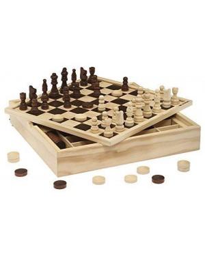 DAL NEGRO 53908 scacchi dama tria top cm.30