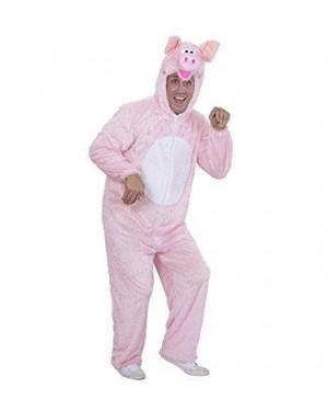 WIDMANN 9271A costume maiale peluche m cappuccio maschera