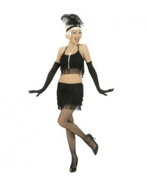 Costume Charleston Top E Gonna S Neri