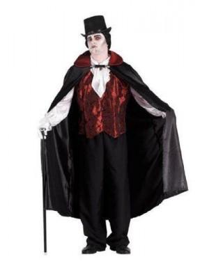 CLOWN 70190 costume vampiro dracula lusso m