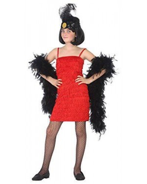 ATOSA 39903.0 costume charleston rosso 10-12