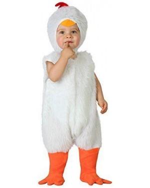 Costume Da Gallina, Baby 12-24 M