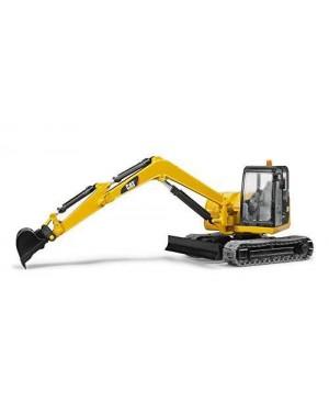 BRUDER 02456 cat mini excavator