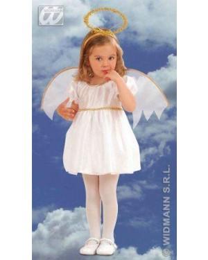 WIDMANN 4933G costume angelo 1/2 2/3 cm 98/104
