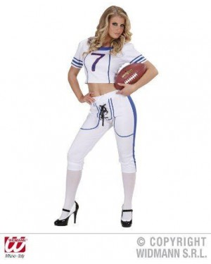 Costume American Football Girl M rugby