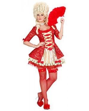 Costume Regina Barocca Rossa S