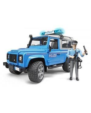 BRUDER 02597 bruder emerg land rover polizia +pers