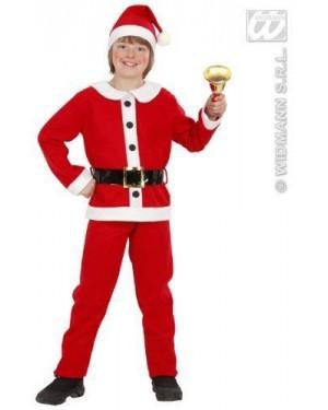 Costume Babbo Natale Bambino 3/5 Cm 116