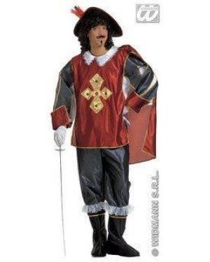 Costume Moschettiere M Con Gemme E Accessori