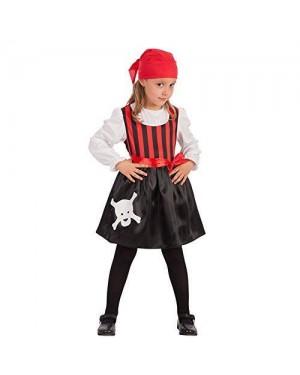 CARNIVAL TOYS 66017 costume piratessa bambina vi-vii