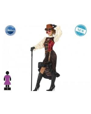 ATOSA 53905 costume steampunk t-1 donna