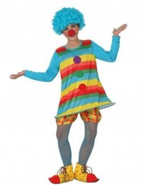 Costume Pagliaccio Bimba T1 3-4 Anni