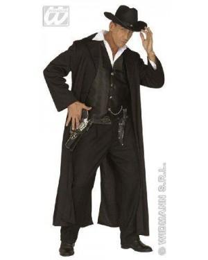 WIDMANN 44471 costume bounty killer s uomo cappotto gilet