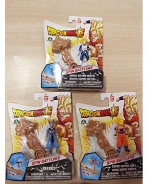 GIOCHI PREZIOSI DRU06000 dragon ball super spin battlers 1 pers + 1 base