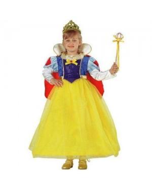 CLOWN 38606 costume biancaneve regina 6 anni