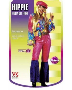 Costume Hippie Figlia Dei Fiori S Velluto