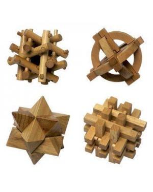 giocheria rdf50558 zig zag rompicapi in legno 8 giochi