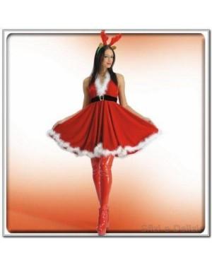 Costume Mamma Natale Chrystal T.U. M L Xl