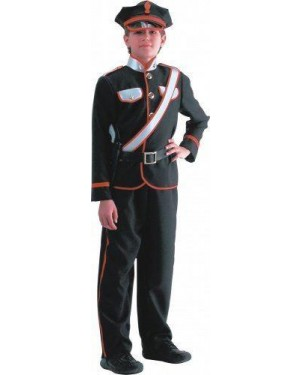 CARNIVAL TOYS 63879 costume carabiniere 8/9 giacca+pant+capp+cint