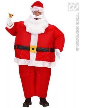 Costume Babbo Natale Gonfiabile (Costume,Cintura,