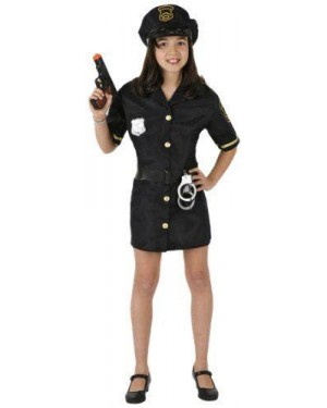 ATOSA 95785 costume poliziotta 3/4 anni bambina